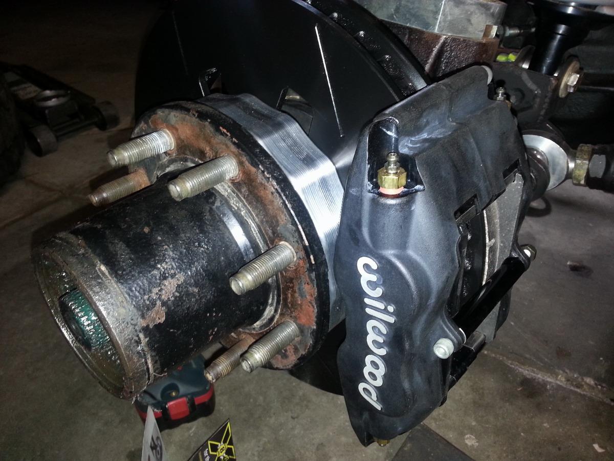 Dana 60 Ford Front 13in Wilwood Brake Kit