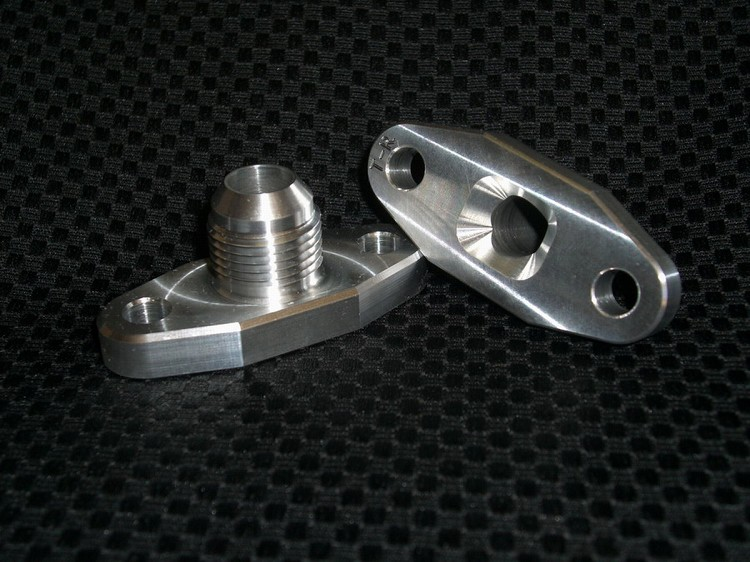 TR-10 AN, T-Series Turbo Oil Drain Fitting